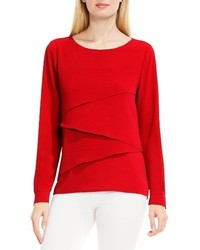 Vince Camuto Asymmetrical Tiered Blouse