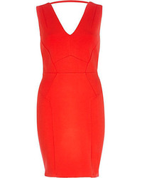 Red bodycon dress original 1384071