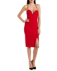 72fb1b2646baa Women's Red Bodycon Dresses from Charlotte Russe | Women's Fashion ...