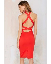 40d77ca17c No Brand Factory Fired Up Lace Dress Out of stock · Rebel Yell Factory  Criss Cross Bodycon Dress