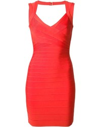 Herv lger abrielle bandage dress medium 150663