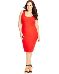 City Chic Plus Size Body Con Dress