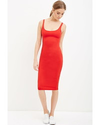 Forever 21 Scoop Neck Bodycon Dress