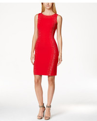 Calvin Klein Studded Bodycon Sheath Dress