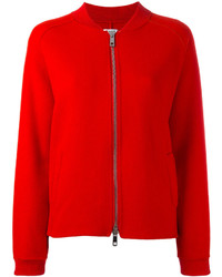 Red Bomber Jacket | Women's Fashion
