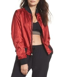 Nike Lab Collection Satin Bomber Jacket