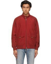 Vans Red Baracuta Edition Chore Bomber Jacket