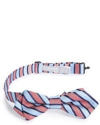Nordstrom Slick Stripe Silk Bow Tie