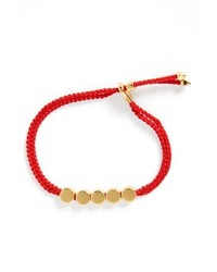 Monica Vinader Linear Bead Friendship Bracelet