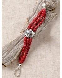 Pendleton Coral Concho Bracelet