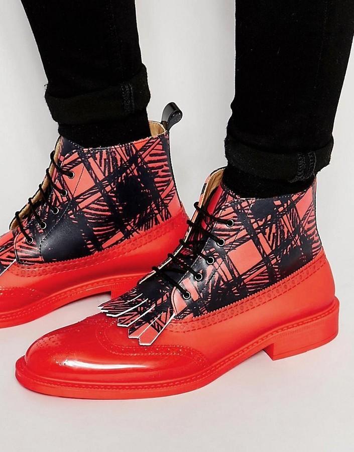 Vivienne Westwood Brogue Boots, $373