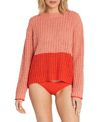 Billabong Block Party Colorblock Sweater