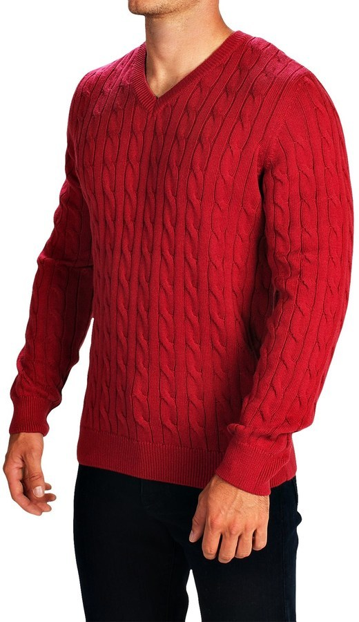 Barbour Burnham Cable Knit Sweater V Neck | Where to buy & how to wear