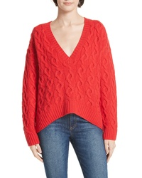Nordstrom Signature Cable Cashmere Sweater