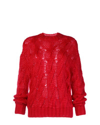 Prada Cable Knit Jumper