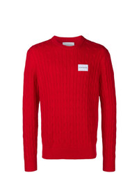 Calvin Klein Jeans Cable Rib Sweater