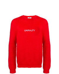 MSGM Casualty Embroidered Sweater