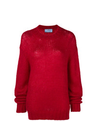 Prada Chunky Knit Sweater
