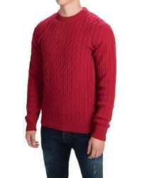 Barbour Croft Cable Sweater Wool