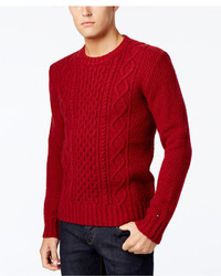Tommy Hilfiger Finn Fisherman Crewneck Sweater