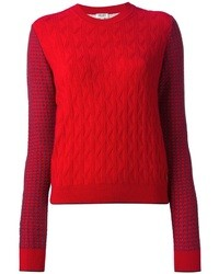 Kenzo Three Cable Pullover Sweater
