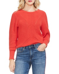 Vince Camuto Lace Up Back Sweater