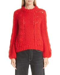 Ganni Mohair Wool Sweater
