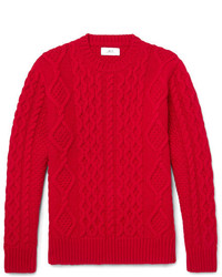 Mr P Cable Knit Merino Wool And Cashmere Blend Sweater