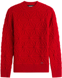 DSQUARED2 Patterned Knit Pullover