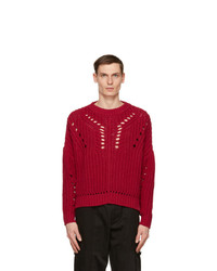 Isabel Marant Red Pacome Sweater