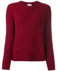 RED Valentino Cable Knit Sweater
