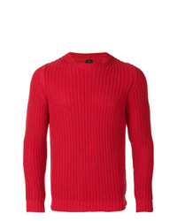 Mp Massimo Piombo Ribbed Knit Sweater