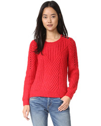 Scotch sodamaison scotch cable sweater medium 814235