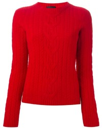 The Row Cable Knit Jumper