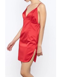 Bacio Satin Cami Dress