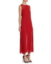 Akris Punto Box Pleat Slip Dress