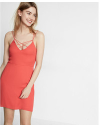 Express Strappy Crisscross Cami Dress