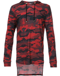 Camouflage hooded sweatshirt medium 4914592