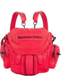 Alexander Wang Marti Mini Backpack Red