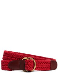 Brooks brothers cotton braided belt medium 259340