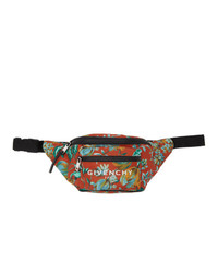 Givenchy Red Floral Bum Bag