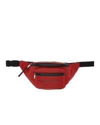 Givenchy Red Logo Bum Bag