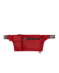 Off-White Red Pockets Fanny Pack