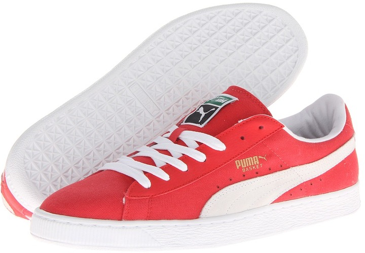 puma sneakers basket classic canvas
