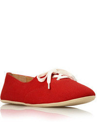 Forever 21 Lace Up Canvas Sneakers