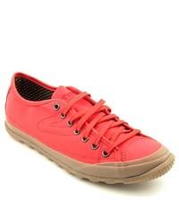 Tretorn Terrang Cc Red Textile Sneakers Shoes Eu 355