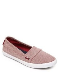 Lacoste Kids Textured Canvas Sneakers