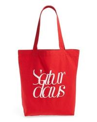 Saturdays Nyc Cropped Tote Bag