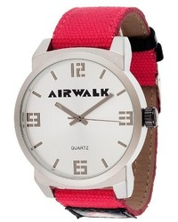 Everlast Airwalk Analog Watch Red