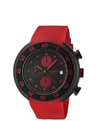 Red Line Driver Red Chronograph Watch